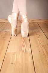 ballerina's pointes