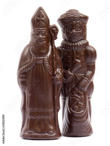 Saint Nicholas and Black Pete Chocolate