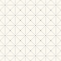 Seamless retro polka dot pattern.