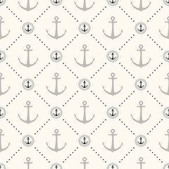 Vector seamless retro pattern