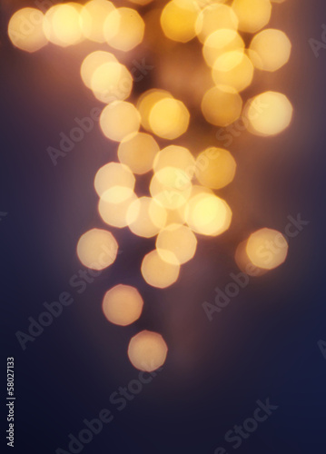 Dark Golden Abstract natural blur defocussed background