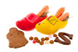 Carrots in Dutch clogs for Sinterklaas