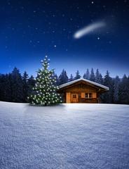 Weihnachtshütte