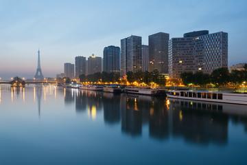 Paris immeubles tour eiffel