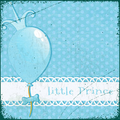 Retro Background Little Prince