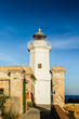 The lighthouse in Sicily