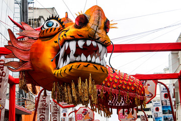 oriental dragon decoration for Chinese new year celebration