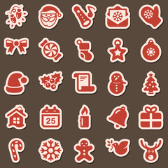 christmas iconset sticker