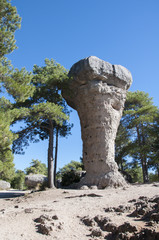 National Park The Ciudad Encantada (Enchanted City), Spain
