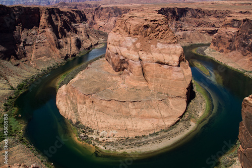 Colorado river horse shoe bend