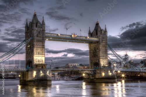 Tower Bridge HDR Image
