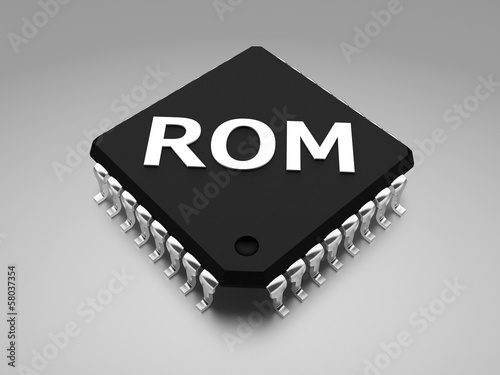 ROM (Read-only memory) chip