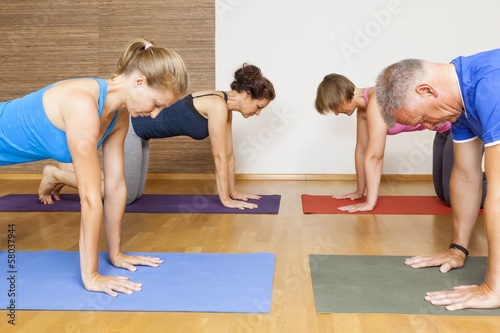 Poster Yoga Exercise
