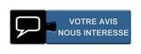 Puzzle-Button blau schwarz: Votre avis nous intéresse