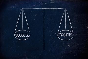 balance measuring success and profits
