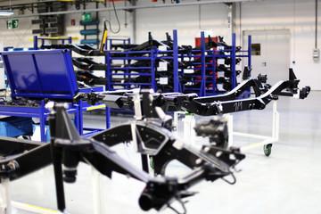 Geräte und Maschinen in der Fabrik
