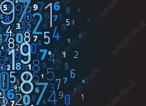 Синий абстрактный numbers сток картинки 178895760 twitter:image:width twitter:image:height