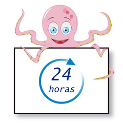 PULPO CARTEL 24 horas