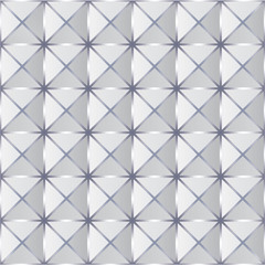 Crumpled paper with geometric seamless pattern.