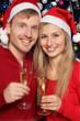 Paar an Weihnachten
