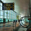 Leinwanddruck Bild - airport terminal