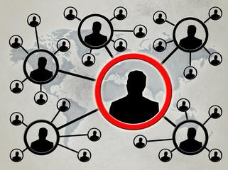 Связи между людьми