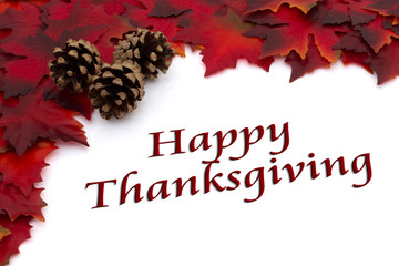 Autumn Time Happy Thanksgiving