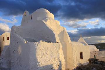 Panagia Paraportiani Church of Mykonos,Greece