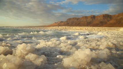 Dead Sea salt. Israe