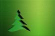 Christmas tree. Design element