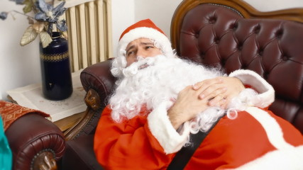 Santa Claus in analysis full commercial