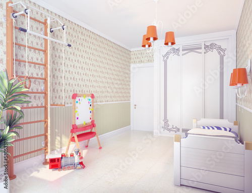 playroom interior (3D)