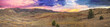 Painted Hills at Sunset Panorama - 58053782