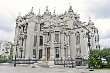 The house with chimeras - the Ukrainian president residence