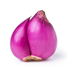 red onion on background