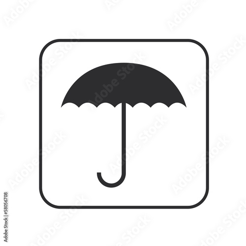 Black Umbrella icon