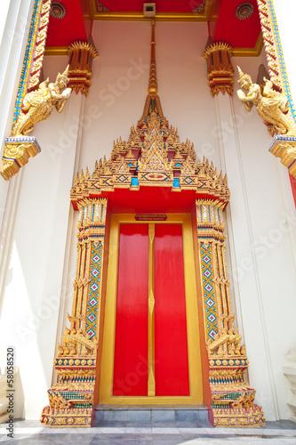 Temple portal © witthaya