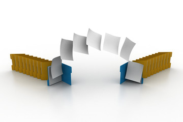 Documents moving one folder to another