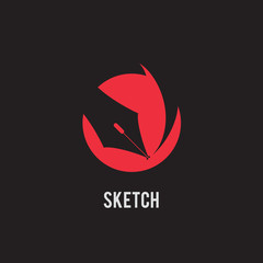 sketch, pen tool