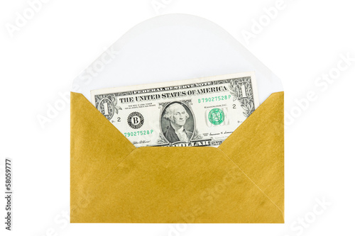 Cash Payment in envelope concept