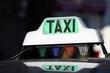 Taxi libre ' lampe verte '