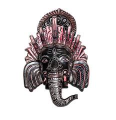 Elephant Indian god Ganesh on white
