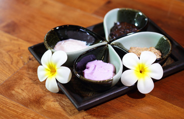 Natural spa cream