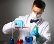Scientist at laboratory