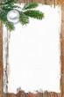 Frohe Weihnachten, plakativ, Holz, Tanne, Lackierer, Maler