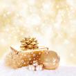 Goldene Weihnachtsgeschenke