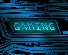 Gaming koncepcja.
