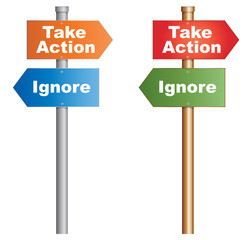Take Action Ignore