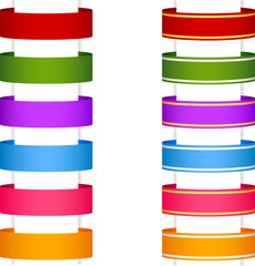 ribbon banner collection 1