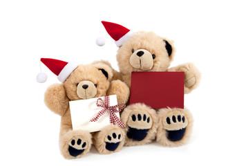 Weihnachtsteddys
